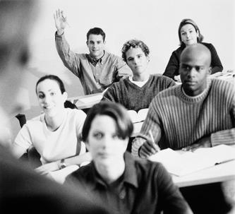 Group of students in a classroom